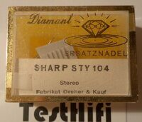 Sharp STY 104 Germany NOS