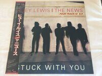 "Huey Lewis & The News ‎– Stuck With You,  Vinyl, 12"", 45 RPM, EP"