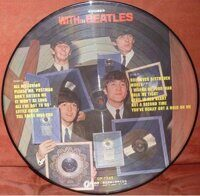 The Beatles ‎– With The Beatles, Vinyl, LP, Album, Picture Disc, Reissue, Unofficial Release, Stereo