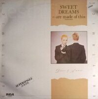 "Eurythmics ‎– Sweet Dreams (Are Made Of This) = Dulces Sueños, Vinyl, 12"", 45 RPM, Maxi-Single"