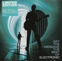 Electronic ‎– Get The Message The Best Of Electronic  CD+DVD