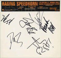 Raging Speedhorn ‎– Raging Speedhorn,Vinyl, Limited Edition, LP, Promo, Orange