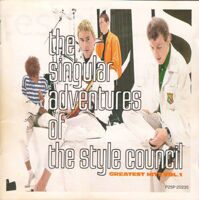 The Style Council ‎– The Singular Adventures Of The Style Council - Greatest Hits Vol. 1