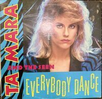 "Ta Mara & The Seen ‎– Everybody Dance, Vinyl, 12"", 45 RPM, Single"