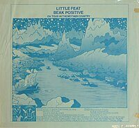 Little Feat ‎– Beak Positive, Vinyl, LP, Unofficial Release
