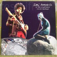 Jimi Hendrix & The Experience ‎– Live In Copenhagen, Vinyl, LP, Limited Edition, Numbered, Unofficial Release