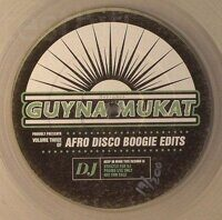 "Guynamukat ‎– Afro Disco Boogie Edits Volume 3: Special Edition (Juno Exclusive), Vinyl, 12"", Promo, hand-numbered limited clear vinyl 12""  / 200 copies"