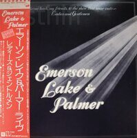 Emerson, Lake & Palmer ‎– Welcome Back My Friends To The Show That Never Ends - Ladies And Gentlemen,3LP